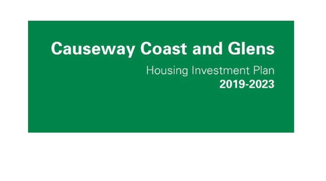 Causeway Coast and Glens Housing Investment Plan document cover.