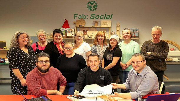 Fab:Social is a success in Shantallow