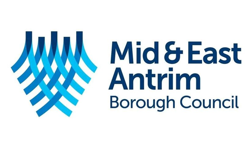 Logo for the Mid and East Antrim Borough Council