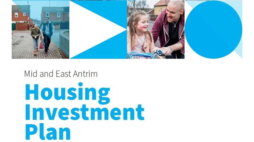 Picture of front cover of Mid and East Antrim HIP Update 2020
