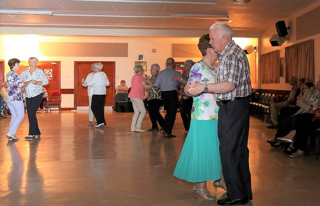 2.	Windyhall 50+ Club Tea Dance in full swing at the Windyhall Community Centre.