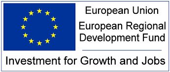 European Regional Development logo.