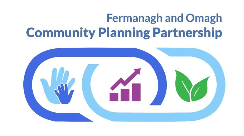 Fermanagh and Omagh district council Community Plan logo