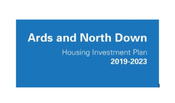 The cover of the Ards and North Down Housing Investment Plan.
