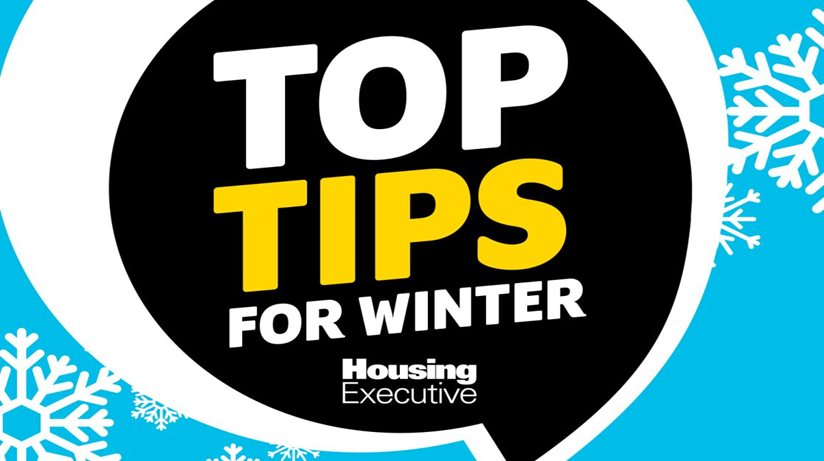 Top tips for winter home maintenance - graphic.