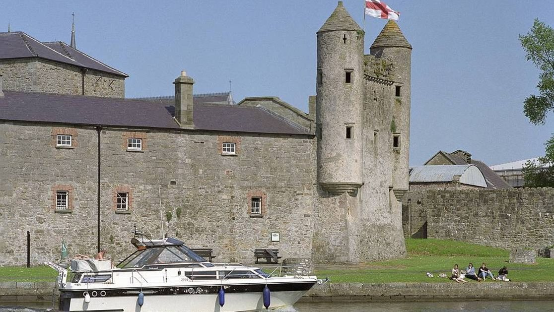 Enniskillen Castle on the River Erne in County Fermanagh